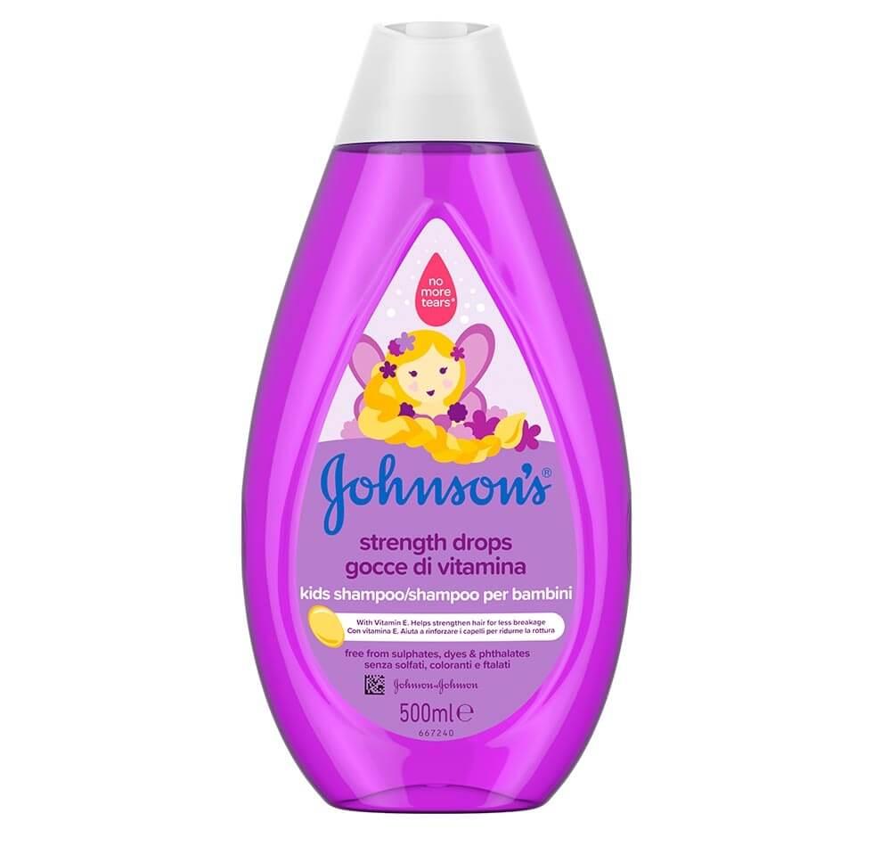 JOHNSON'S® Gocce di Vitamina Shampoo per Bambini