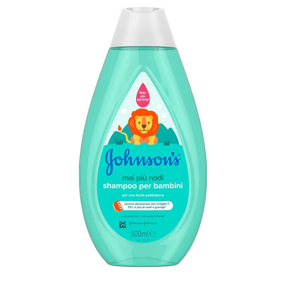 JOHNSON'S® Mai Più Nodi Shampoo per Bambini