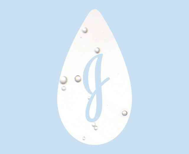 Johnson's® baby teardrop logo